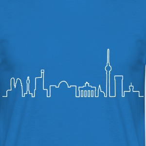 Skyline of Berlin T-Shirts - Men's T-Shirt