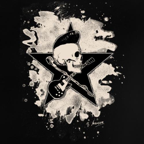 Rock-n-Roll Skull bleached Version