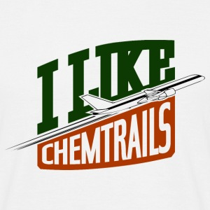 I Like Chemtrails T-shirts - Mannen T-shirt