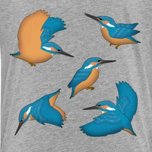 Eisvogel Auswahl T-Shirts - Teenager Premium T-Shirt