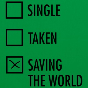 Single Taken Saving the World  Borse & zaini - Borsa di stoffa