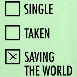 Single Taken Saving the World  Toppe - Dame tanktop fra Bella