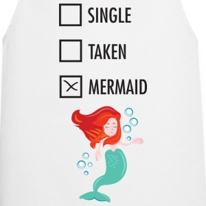 Single Taken Mermaid Delantales - Delantal de cocina