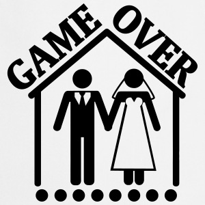 THE GAMES ARE OVER – IT IS MARRIED!  Aprons - Cooking Apron
