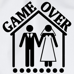 THE GAMES ARE OVER – IT IS MARRIED! Bags & Backpacks - Drawstring Bag