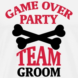 BACHELOR PARTY - TEAM OF THE GROOM T-Shirts - Men's Premium T-Shirt