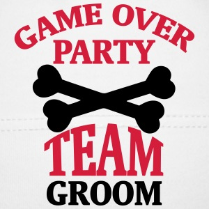 BACHELOR PARTY - TEAM OF THE GROOM Baby Cap - Baby Cap