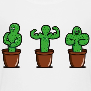 cactus with muscles Shirts - Kids' Premium T-Shirt