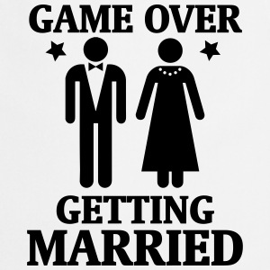 GAME OVER - IT IS MARRIED!  Aprons - Cooking Apron