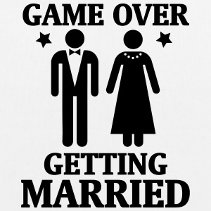 GAME OVER - IT IS MARRIED! Bags & Backpacks - EarthPositive Tote Bag