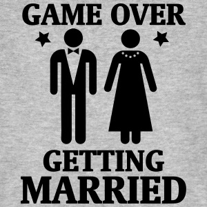 GAME OVER - ES WIRD GEHEIRATET! T-Shirts - Männer Bio-T-Shirt