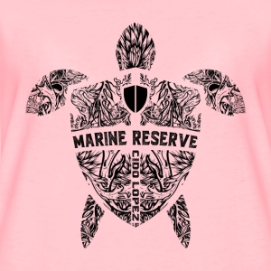 Marine Turtle Graphic Art - Women's Premium T-Shirt