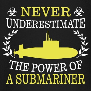 NEVER UNDERESTIMATE THE POWER OF A SUBMARINE DRIVER! Baby Long Sleeve Shirts - Baby Long Sleeve T-Shirt