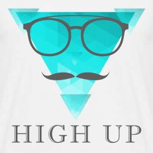high up - Männer T-Shirt