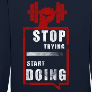 start doing - Kontrast-Hoodie