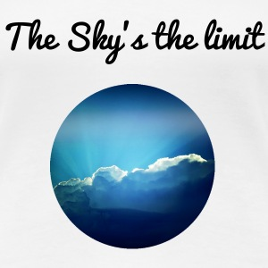 The sky is the limit T-Shirts - Frauen Premium T-Shirt