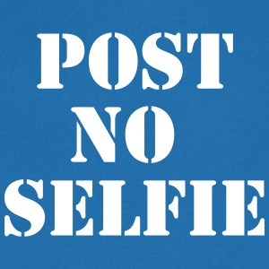 Post no Selfie Tee shirts - T-shirt Homme col V