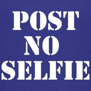Post no Selfie Shirts - Teenage Premium T-Shirt