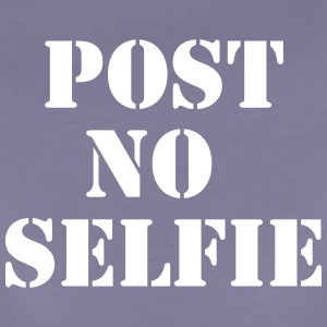 Post no Selfie T-Shirts - Frauen Premium T-Shirt