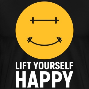 Lift Yourself Happy T-Shirts - Men's Premium T-Shirt