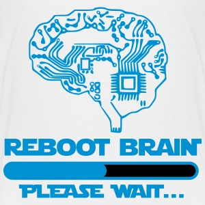 brain reboot please wait Tee shirts - T-shirt Premium Ado