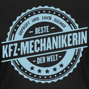 Beste KFZ-Mechanikerin T-Shirts - Frauen T-Shirt