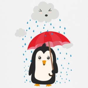 Penguin in the rain Baby Long Sleeve Shirts - Baby Long Sleeve T-Shirt