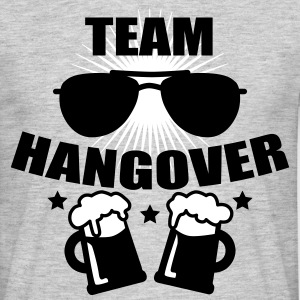 Team Hangover Sonnenbrille JGA cool Party T-Shirt - Männer T-Shirt