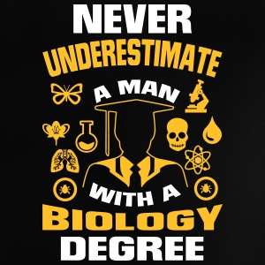 Never underestimate a man with a bio final Baby Shirts  - Baby T-Shirt