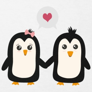 In love with penguins Shirts - Kids' Organic T-shirt