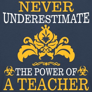 NEVER UNDERESTIMATE A TEACHER! Long Sleeve Shirts - Kids' Premium Longsleeve Shirt