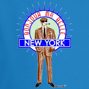 Bonjour ma belle New York by Francisco Evans ™ - Männer Bio-T-Shirt