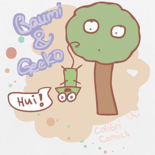 Baumi und Gecko - Anjas Farbe