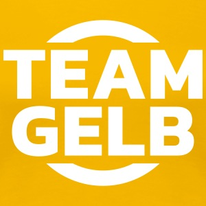 Team Gelb T-Shirts - Frauen Premium T-Shirt