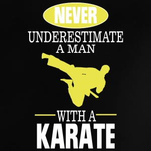 UNDERESTIMATE NEVER A MAN AND HIS KARATE! Baby Shirts  - Baby T-Shirt