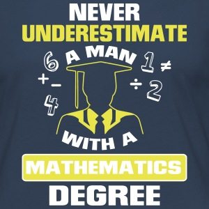 Never underestimate graduates a mathematics! Long Sleeve Shirts - Women's Premium Longsleeve Shirt
