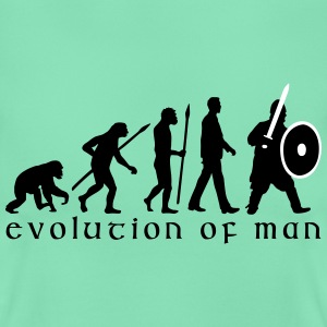 evolution_of_man_knight_with_sword_07201 T-Shirts - Frauen T-Shirt