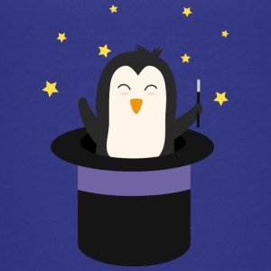 Penguin Wizard Shirts - Teenage Premium T-Shirt