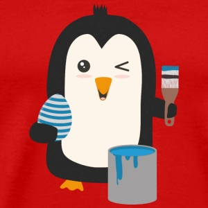 Penguin egg T-Shirts - Men's Premium T-Shirt