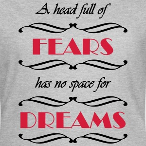 A head full of fears T-Shirts - Frauen T-Shirt