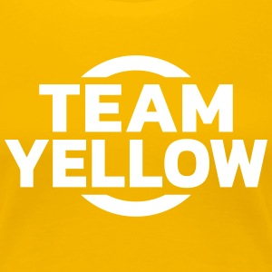 Team Yellow T-Shirts - Frauen Premium T-Shirt