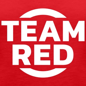 Team Red Tops - Women's Premium Tank Top