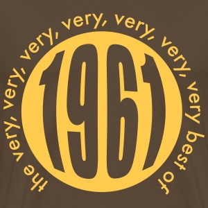 Very very very best of 1961 T-Shirts - Männer Premium T-Shirt