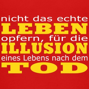 Leben - Illusion - Tod T-Shirts - Teenager Premium T-Shirt