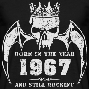born_in_the_year_196704 T-Shirts - Männer T-Shirt