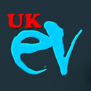 UK ev logo - Men's T-Shirt