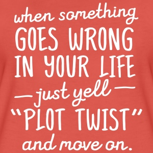 Plot Twist T-shirts - Vrouwen Premium T-shirt