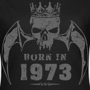 born_in_the_year_197324 T-Shirts - Frauen T-Shirt