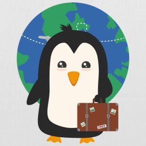 Penguin of world traveler Bags & Backpacks - Tote Bag