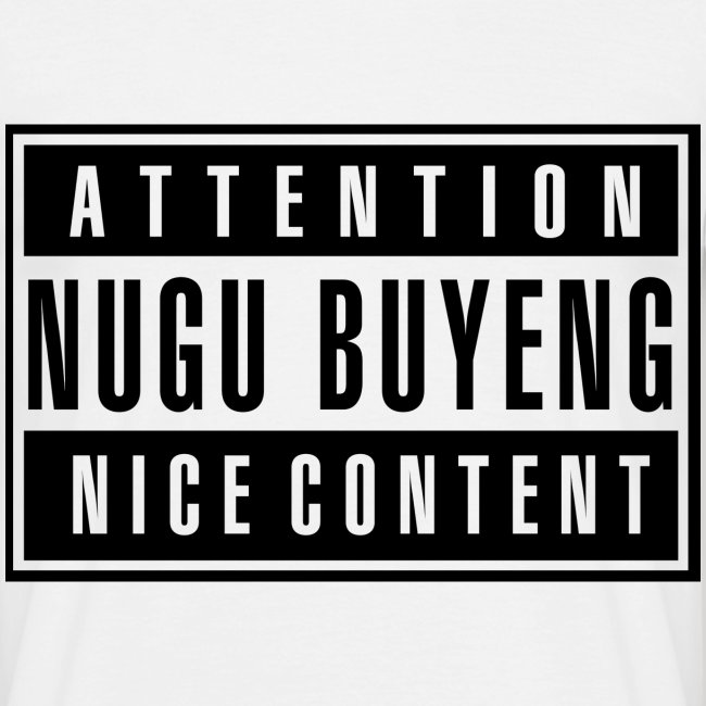 Nice Content - Nugu Buyeng [White]